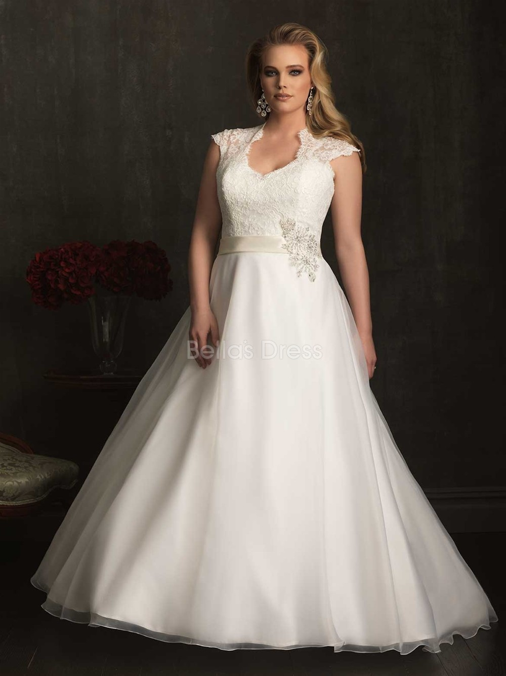 Allure Plus Size Wedding Dresses | Fashion Wallpaper