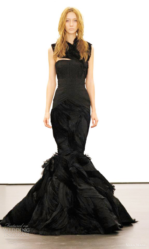 Maggie sottero black mermaid wedding dresscherry marry for Black mermaid wedding dresses