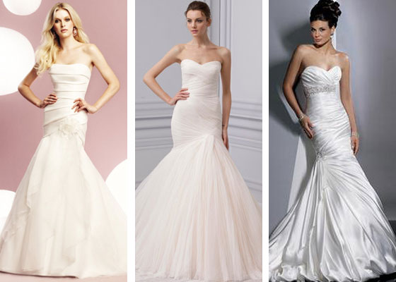 monique lhuillier mermaid wedding dresses