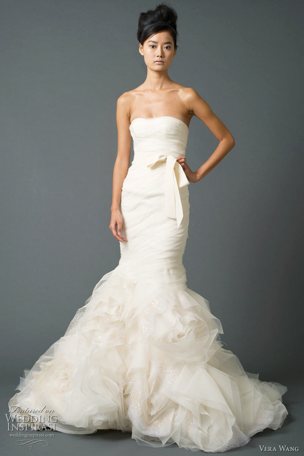 vera wang mermaid wedding dresses