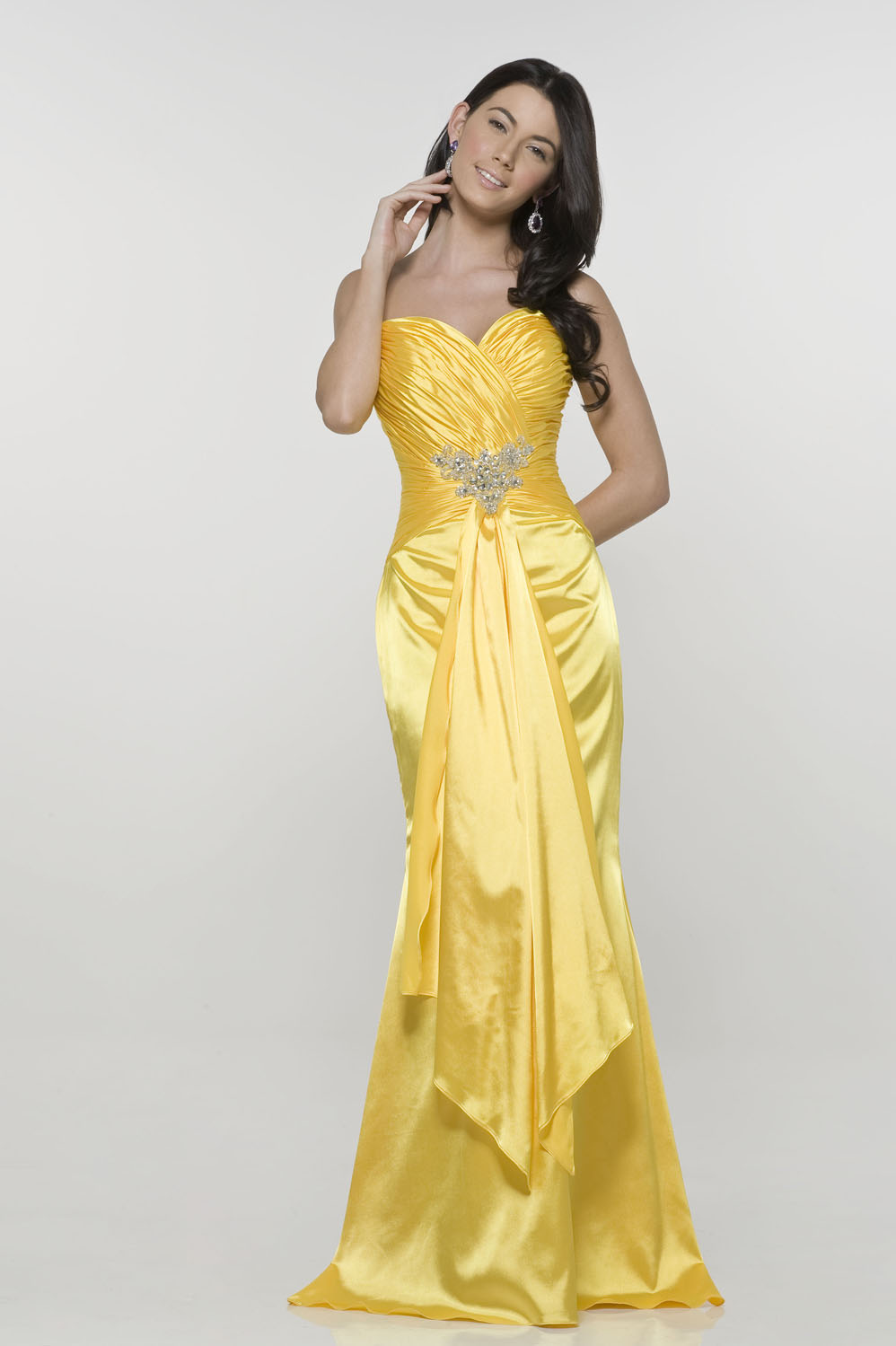 yellow mermaid wedding dressescherry marry cherry marry