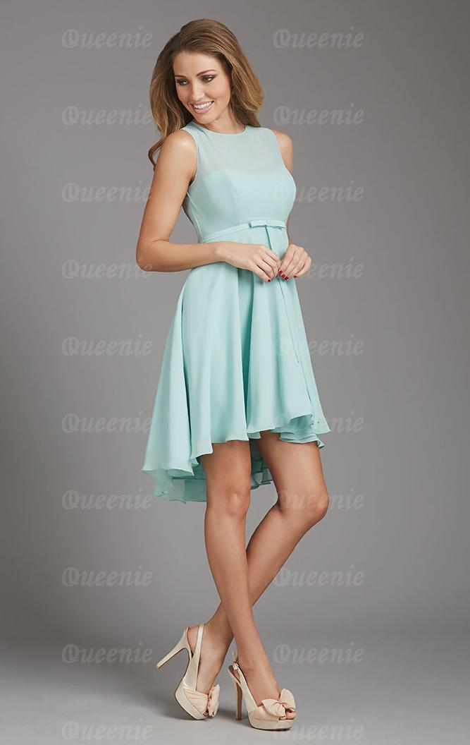 Bridesmaid Dresses Light Blue Uk - Wedding Short Dresses