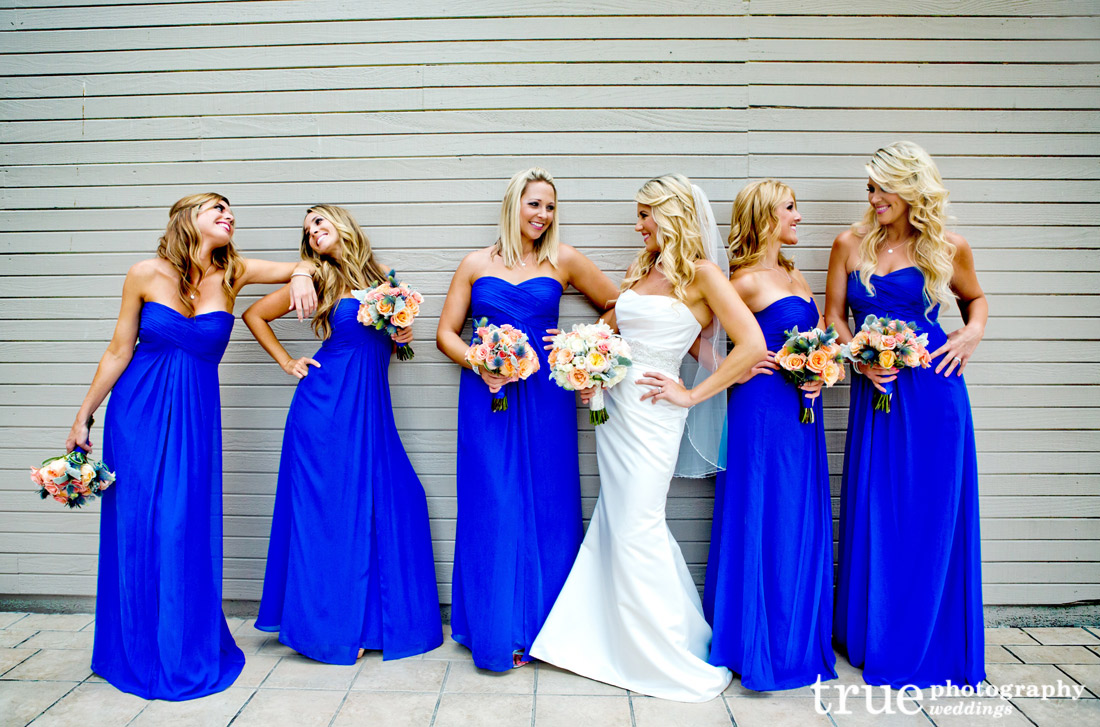 Romantic Blue Bridesmaid Dresses to Inspire You | Cherry Marry