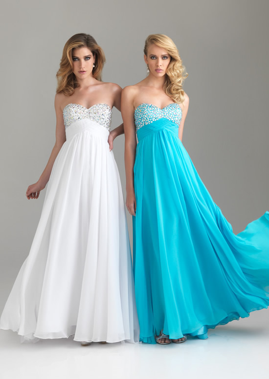 aqua blue strapless bridesmaid dressesCherry Marry | Cherry Marry