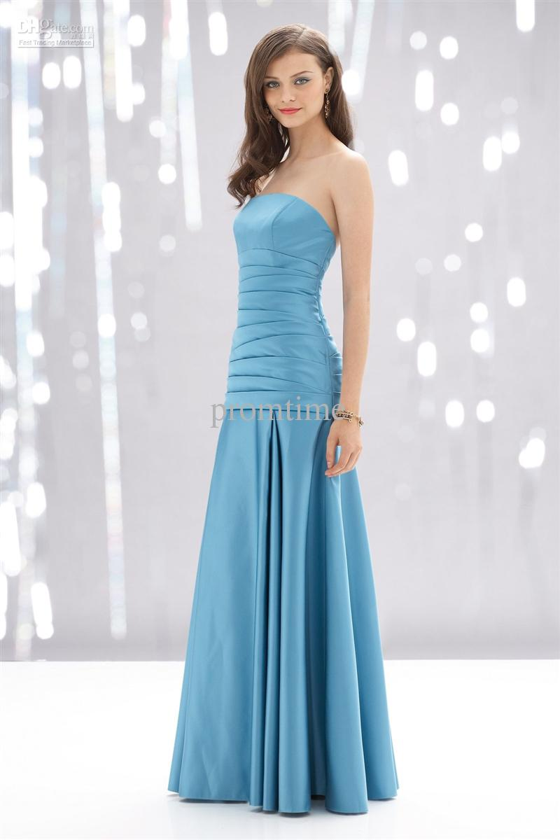 Aqua Blue Bridesmaids Dresses 52