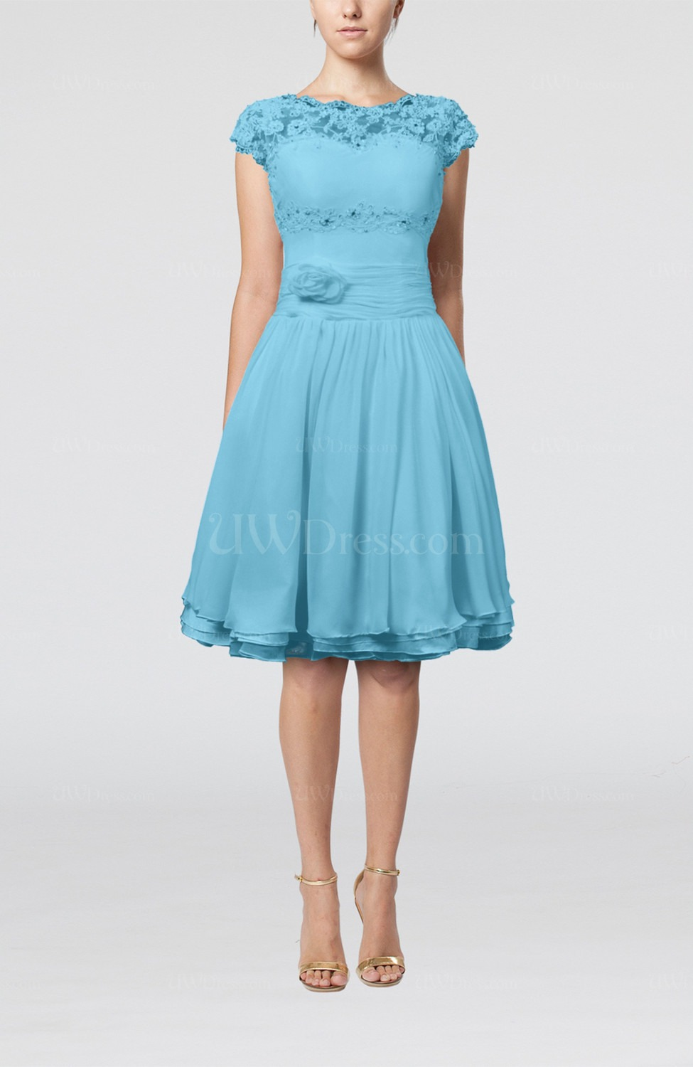 light blue bridesmaid dresses with sleevesCherry Marry | Cherry Marry