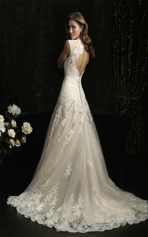 Wedding Dress Images Lace : Vintage lace wedding dresses for classy bridal look