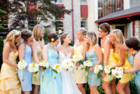 mix and match spring bridesmaid dresses
