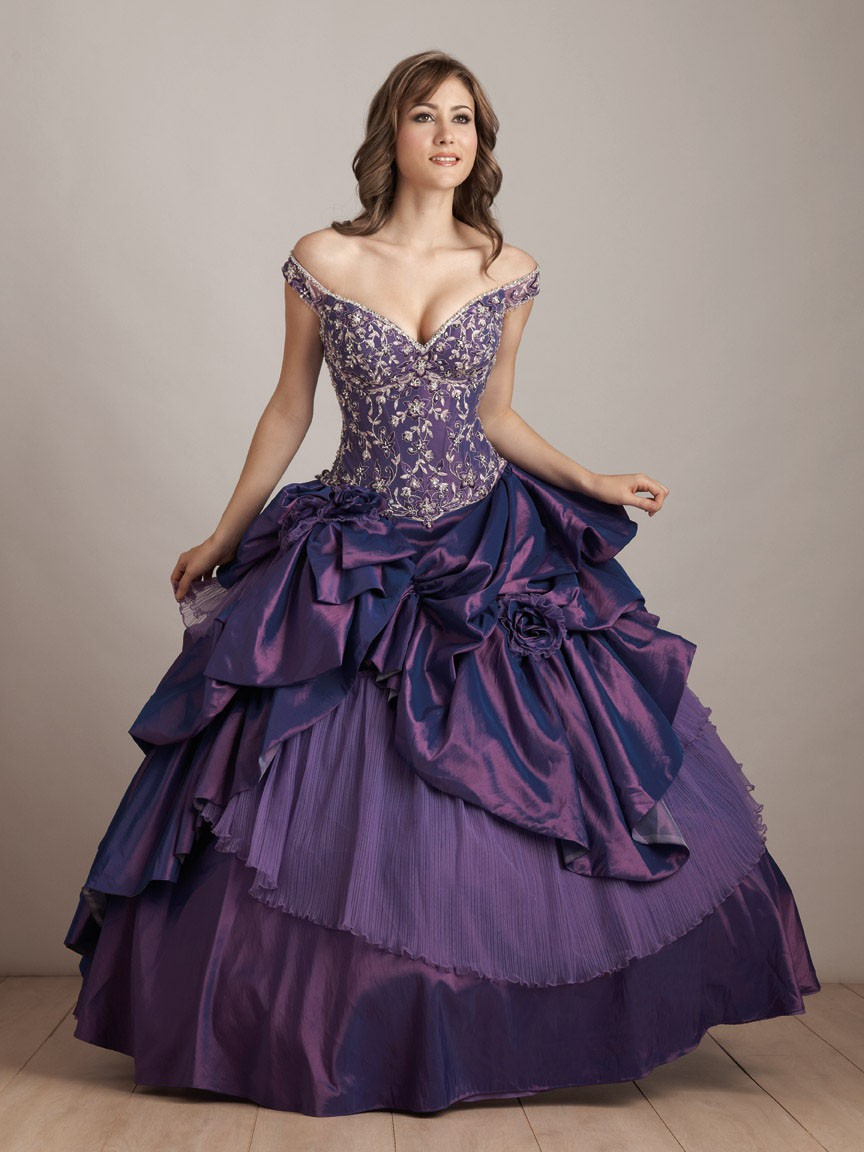 purple wedding dresses to shine your wedding event With purple dresses for weddings