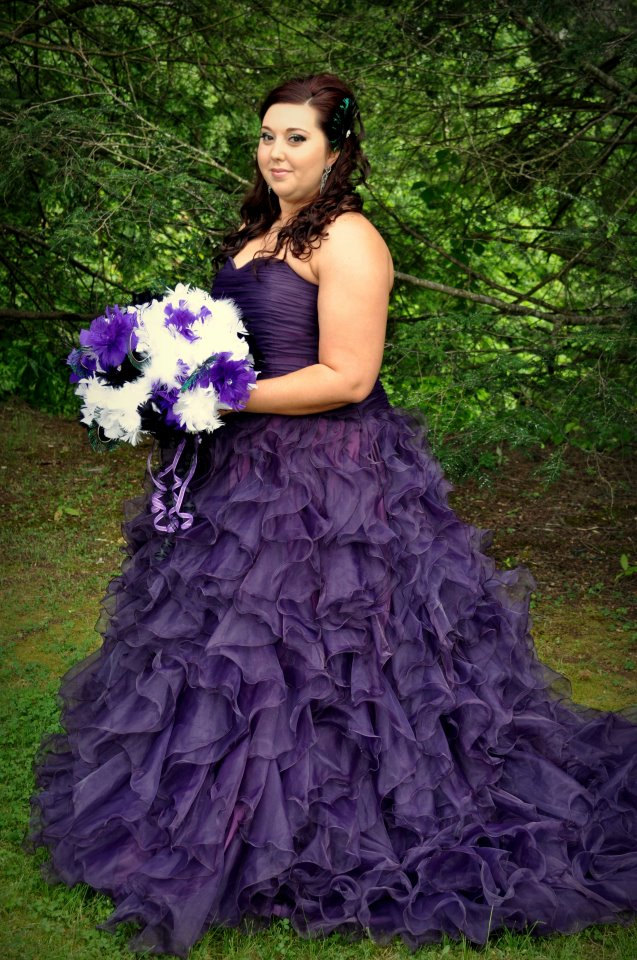 Romantic Purple Wedding Dresses to Inspire You | Cherry Marry