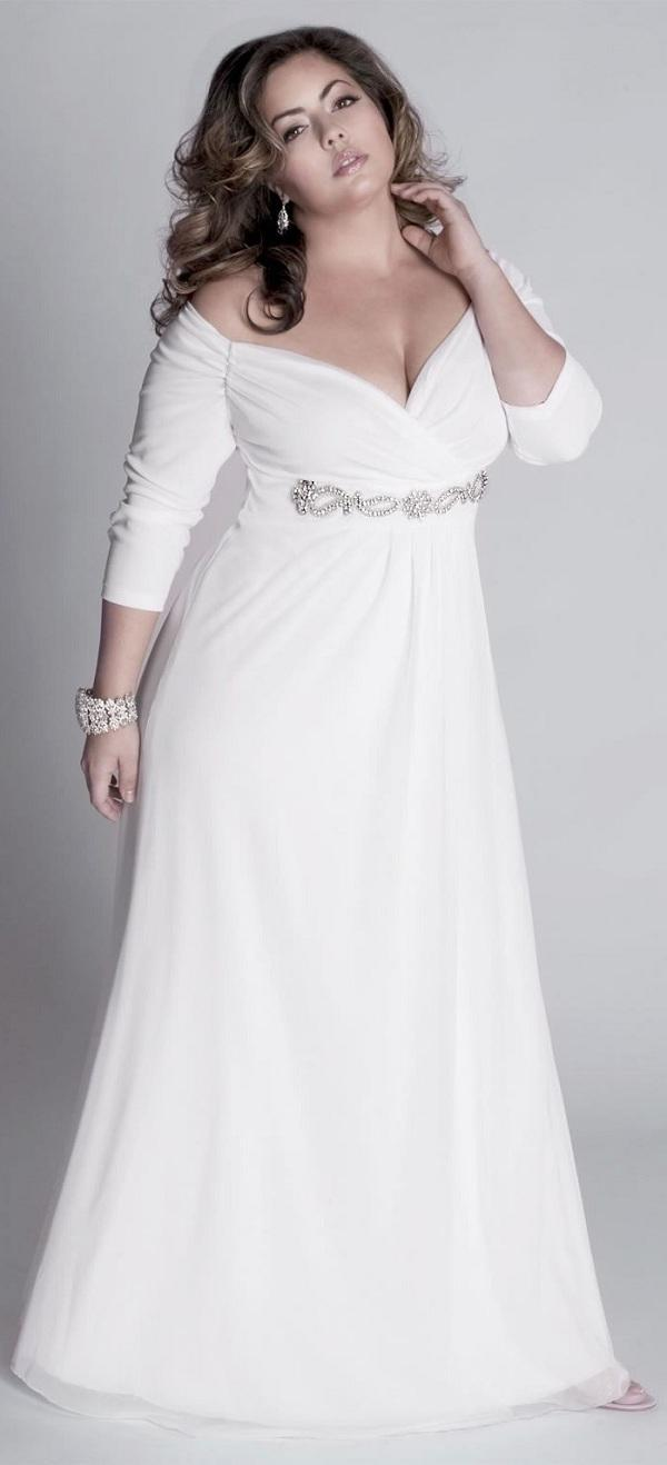 simple plus size wedding dresses cherry marry