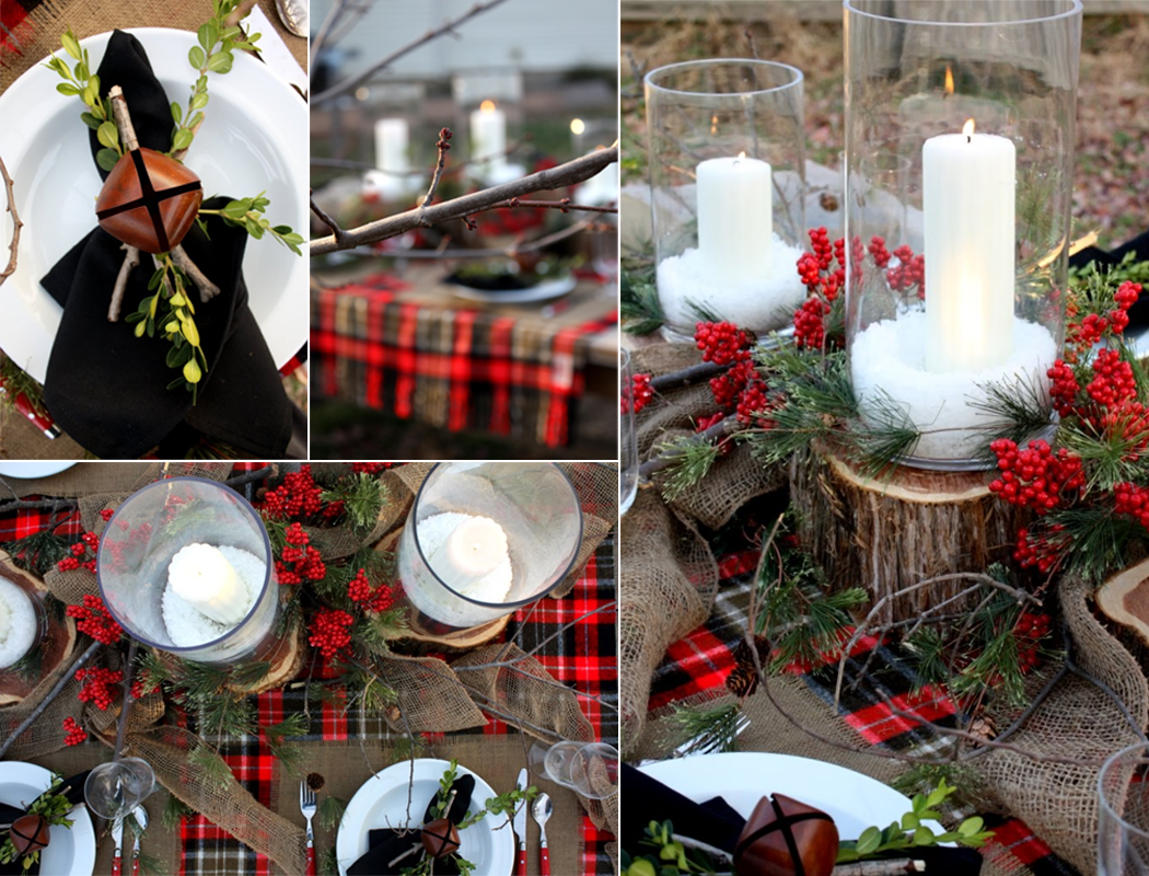 country christmas wedding decoration ideas