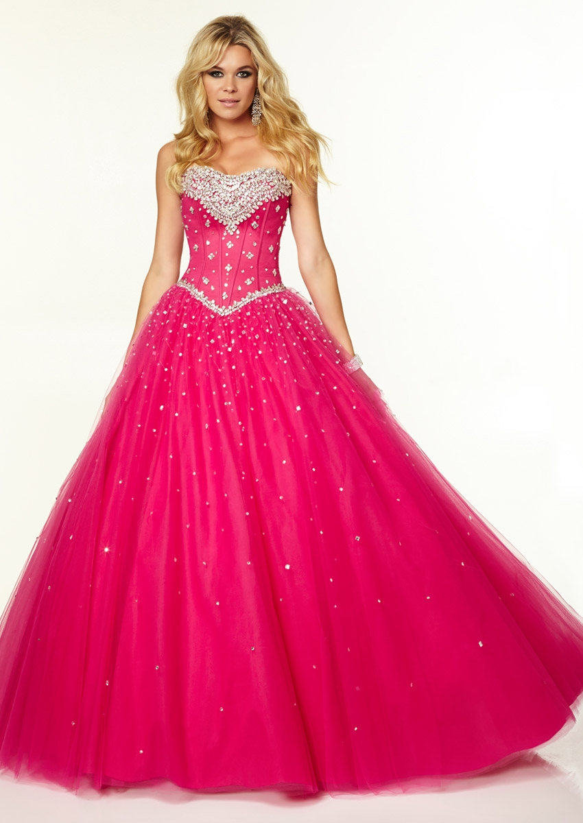 Hot pink wedding dresses for irresistible bridal look cherry marry hot pink wedding dress junglespirit