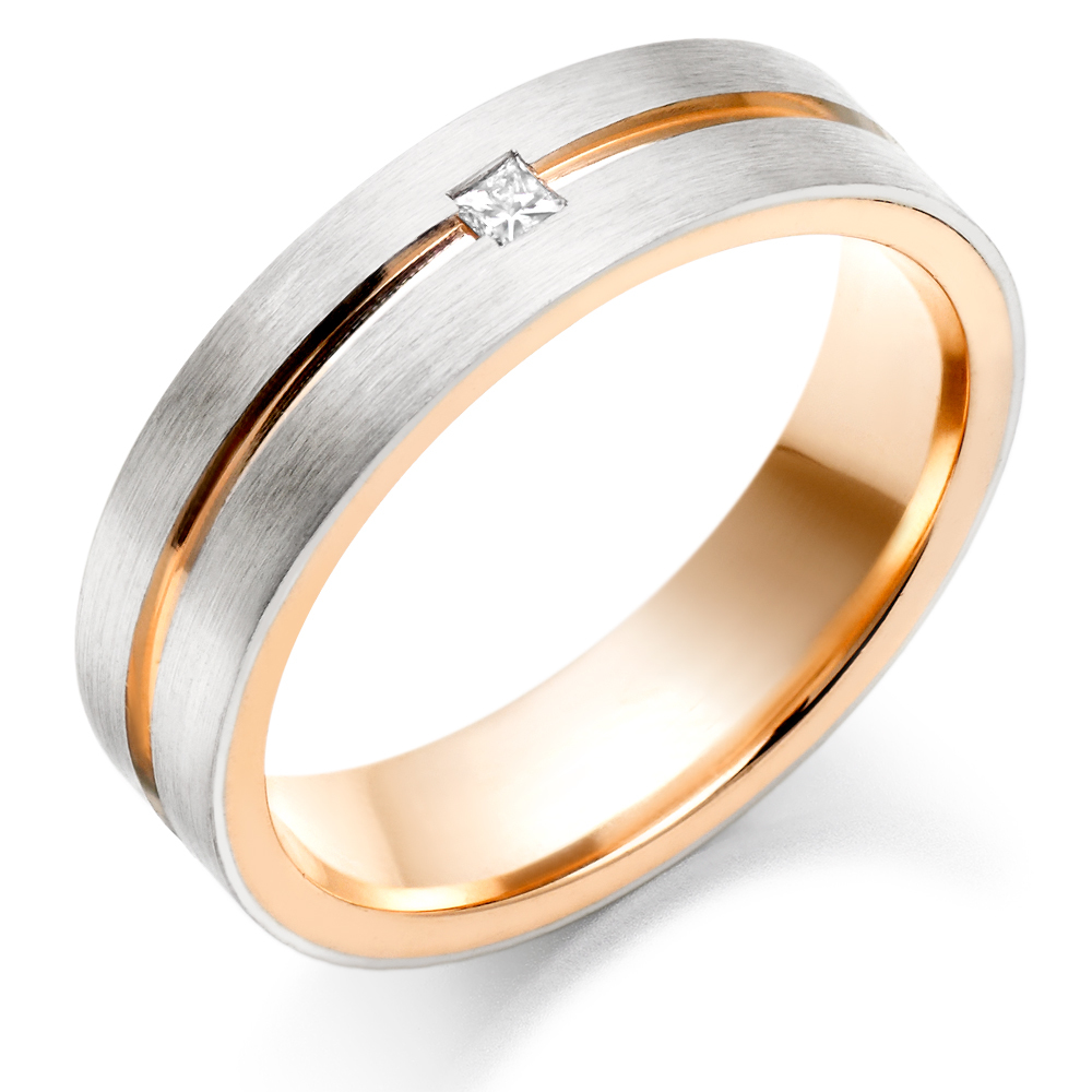 Mens Gold Wedding Rings Cherry Marry