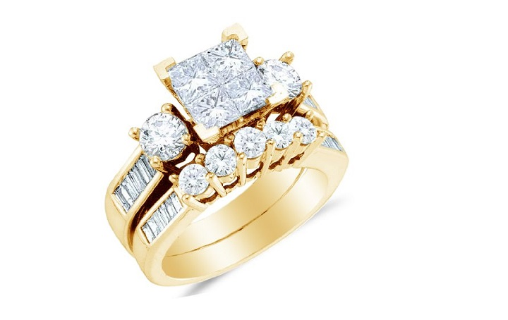Womens Gold Wedding Rings Cherry Marry