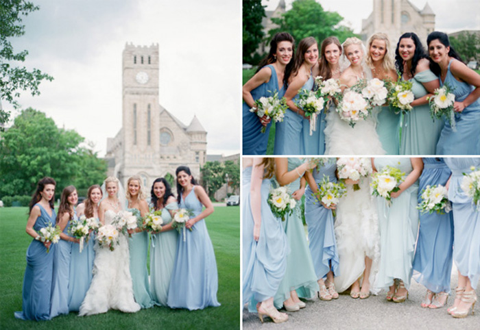 blue summer bridesmaid dressescherry marry cherry marry