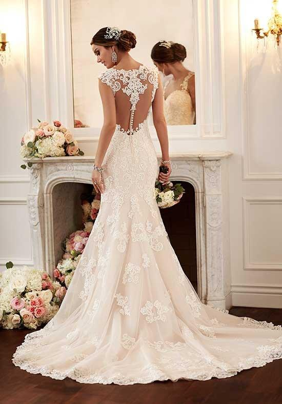 latest lace wedding dress Stella York