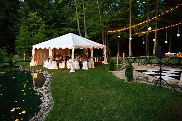 diy backyard wedding ideas for large backyard