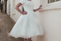 1950s vintage ball gown wedding dress