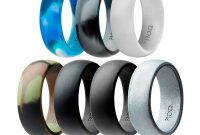 mens rubber wedding bands