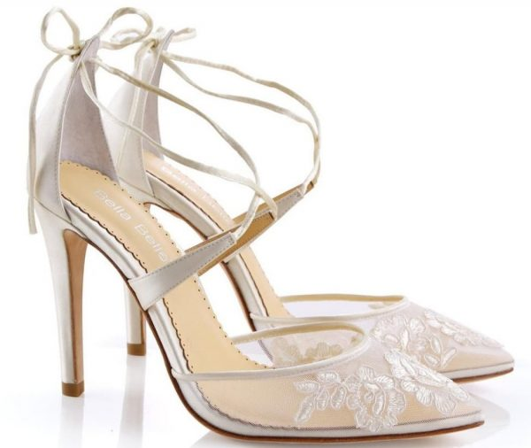 beb3ba7fd Cute Ivory Wedding Shoes for Bride – Cherry Marry