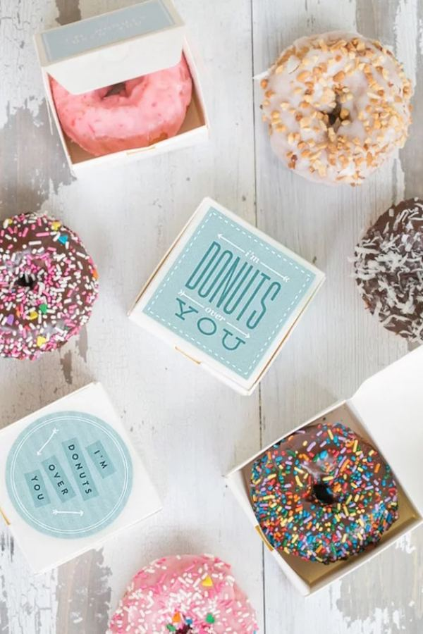 Cheap Donuts Wedding Party Favor