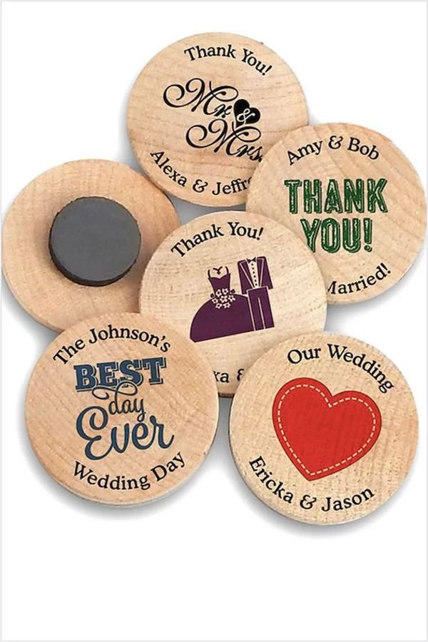 Cheap Magnets Wedding Party Favor