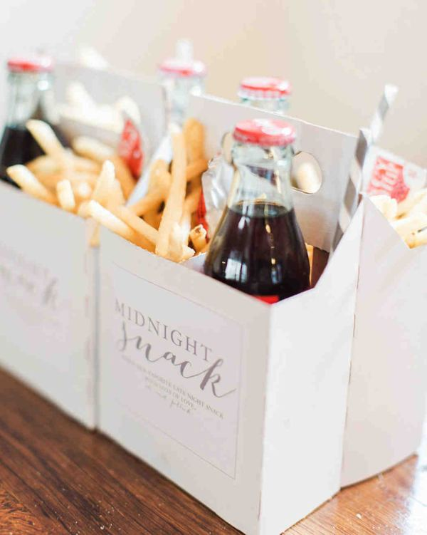 Wedding Snack Party Favor
