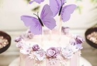Butterfly Wedding Cake Decoration