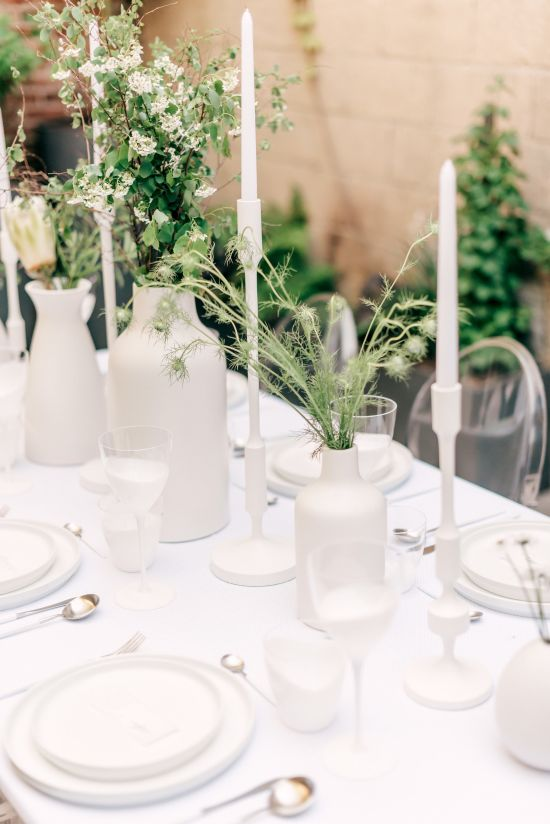Wedding Candle Centerpieces In Artsy Candle Holders