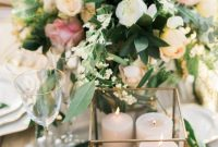 Wedding Candle Centerpieces With Flowers Living
