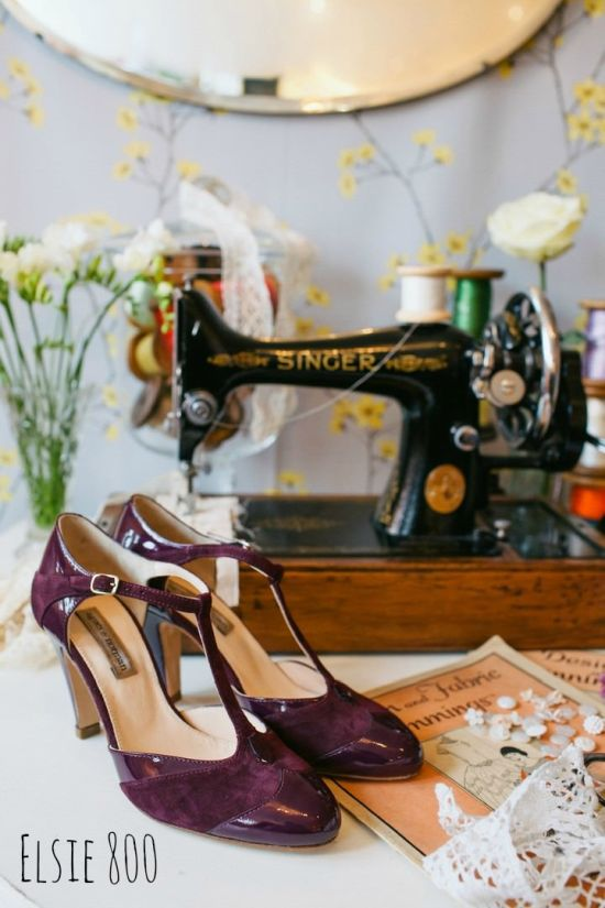 Vintage Inspired Wedding Shoes By Agnes And Norman Elsie 800