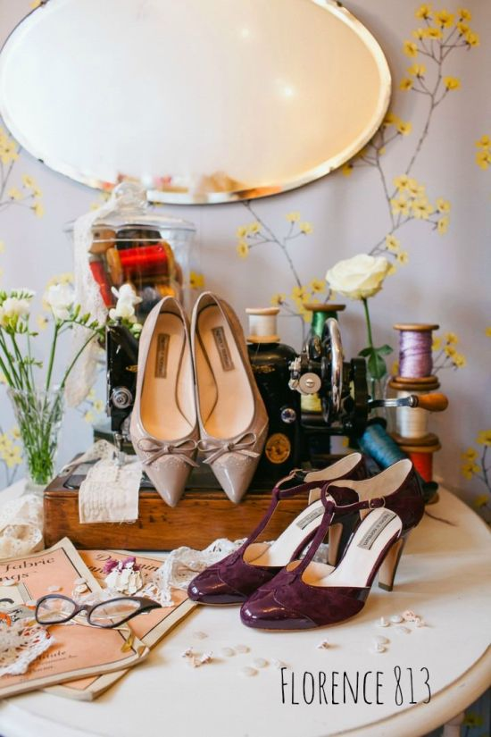 Vintage Inspired Wedding Shoes By Agnes And Norman Florence 813