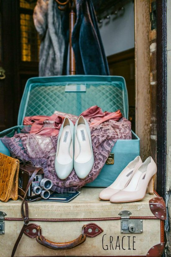 Vintage Inspired Wedding Shoes By Agnes And Norman Gracie