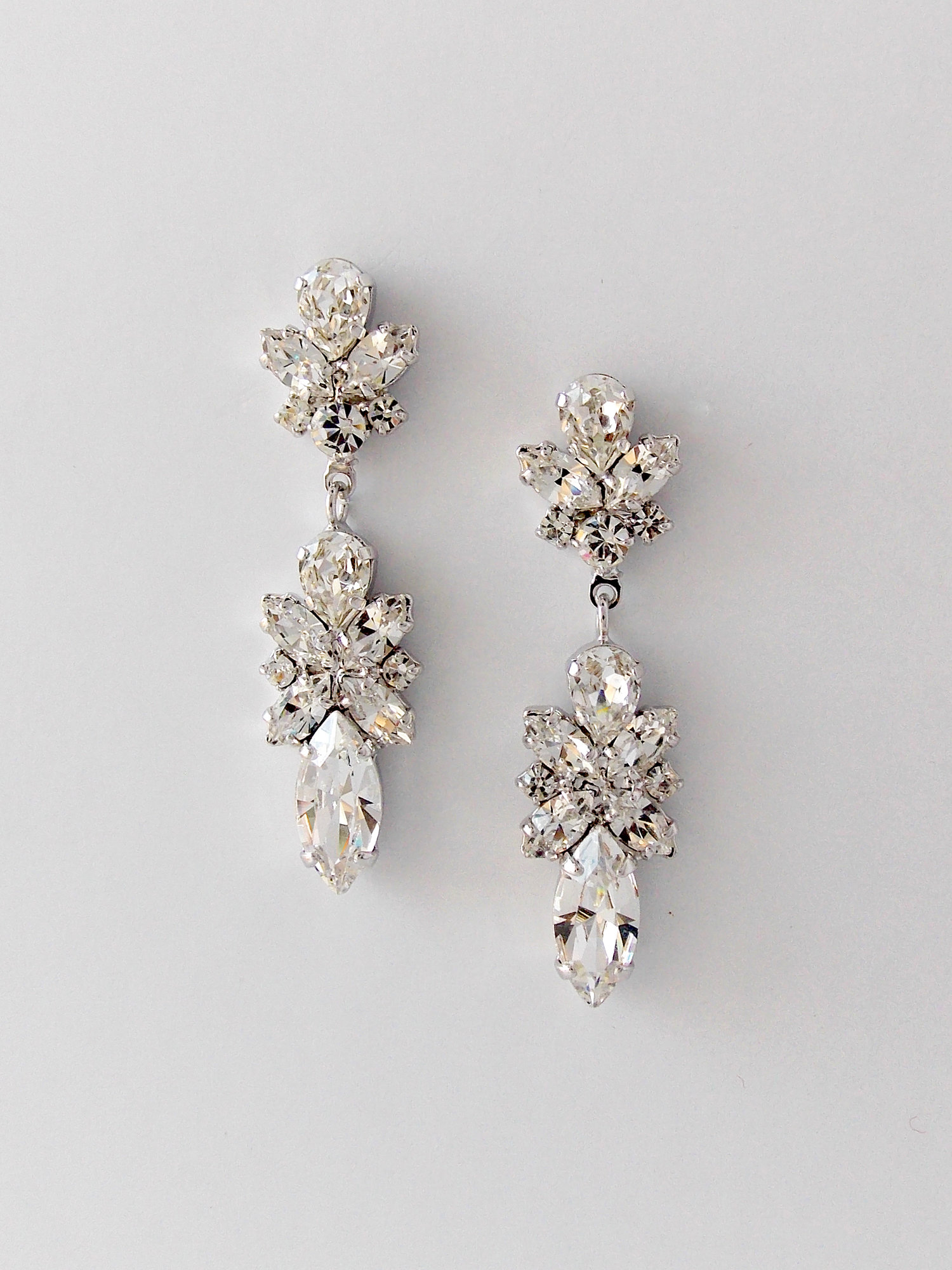 Drop Vintage Wedding Earrings