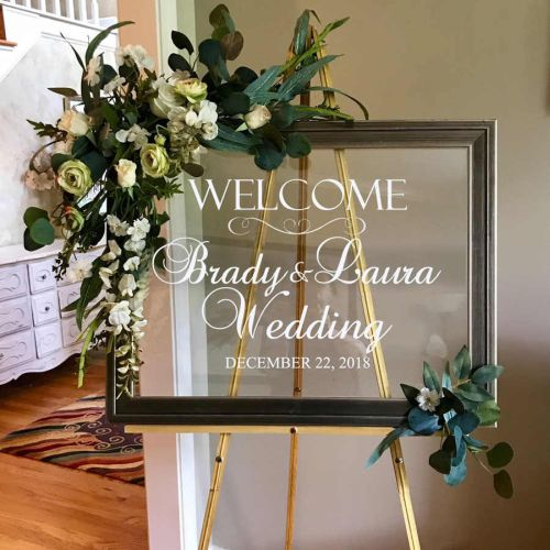 Simple Wedding Decoration With Frame